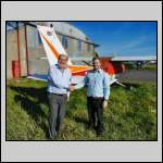 Mike Catterall completes his AOPA Aerobatic Course.