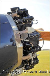 Stearman engine prior to start up - Click to view high resolution version